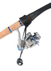 SLIX Ice Fishing Rod Cover Black