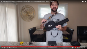 Watch the video review of our Backcountry Telescopic Travel Rod