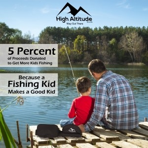 5 Percent Donated Kid With Dad Fishing300x300