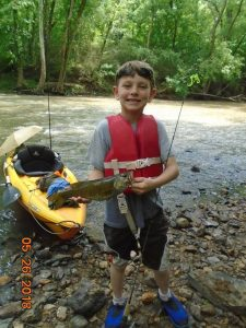 His first fish by Bentley Mcdowell