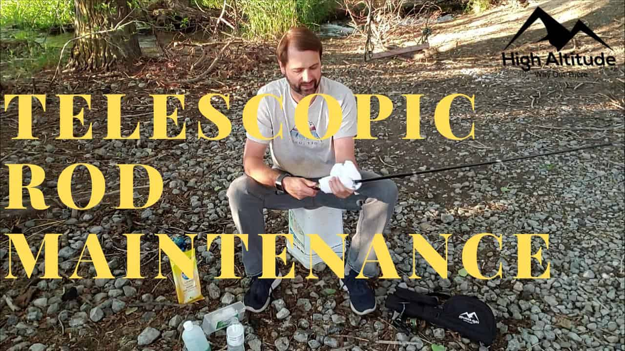 How to Clean and Maintain Your Telescopic Fishing Rod or Pole