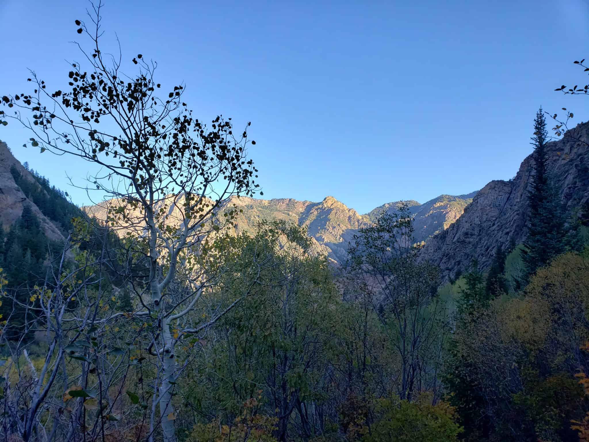 Lake Blanche Big Cottonwood Canyon Hiking Lake Blanche Trail