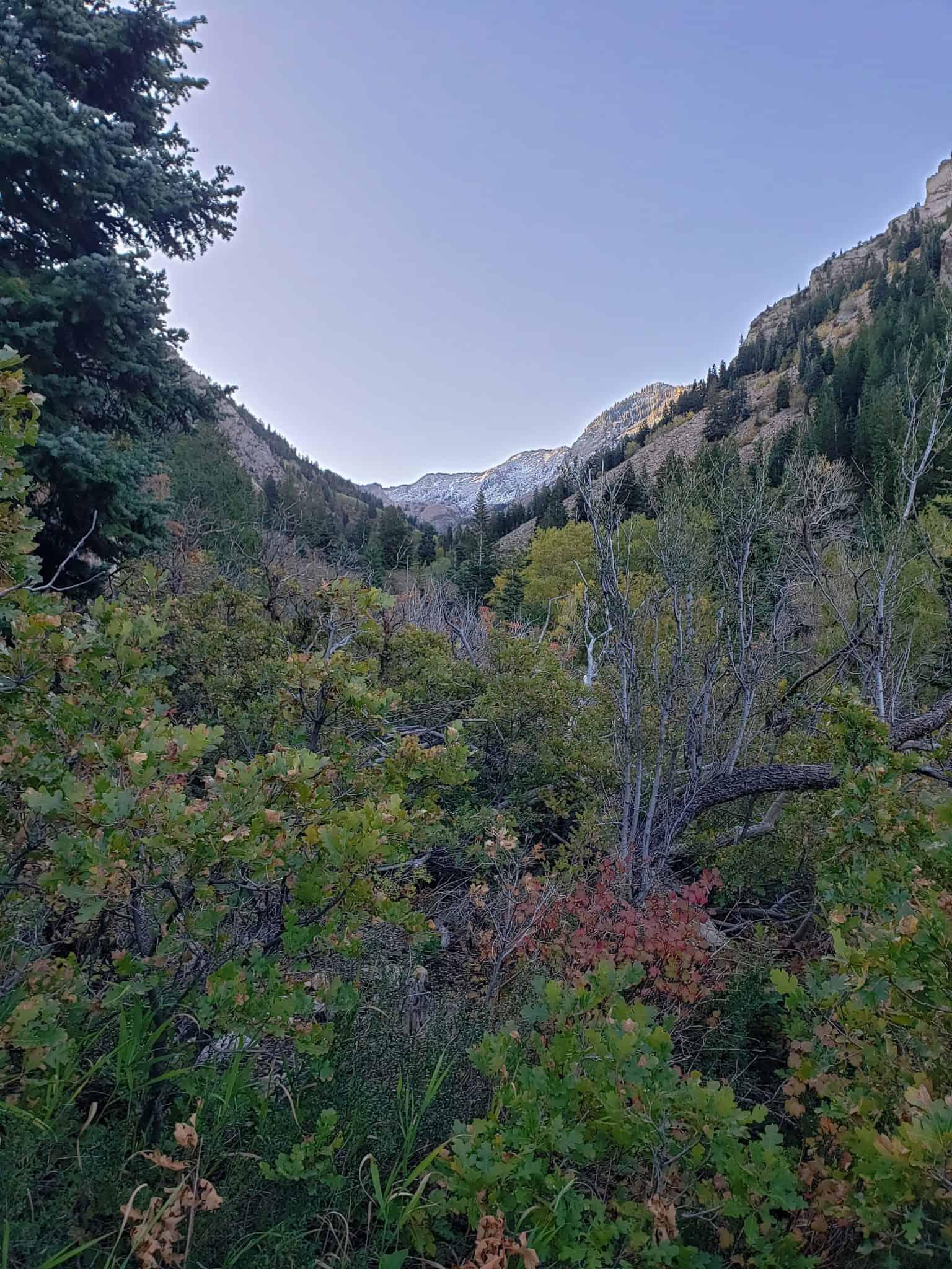 Lake Blanche Hiking Trail up Big Cottonwood Canyon Near Salt Lake City Utah