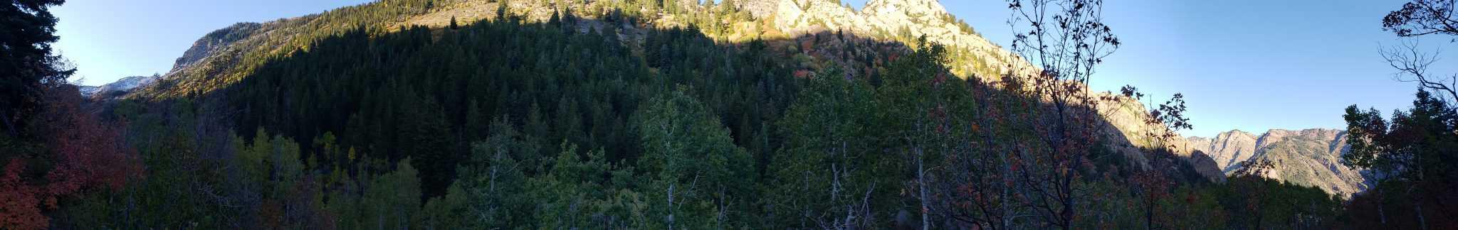 Lake Blanche Trail Panorama