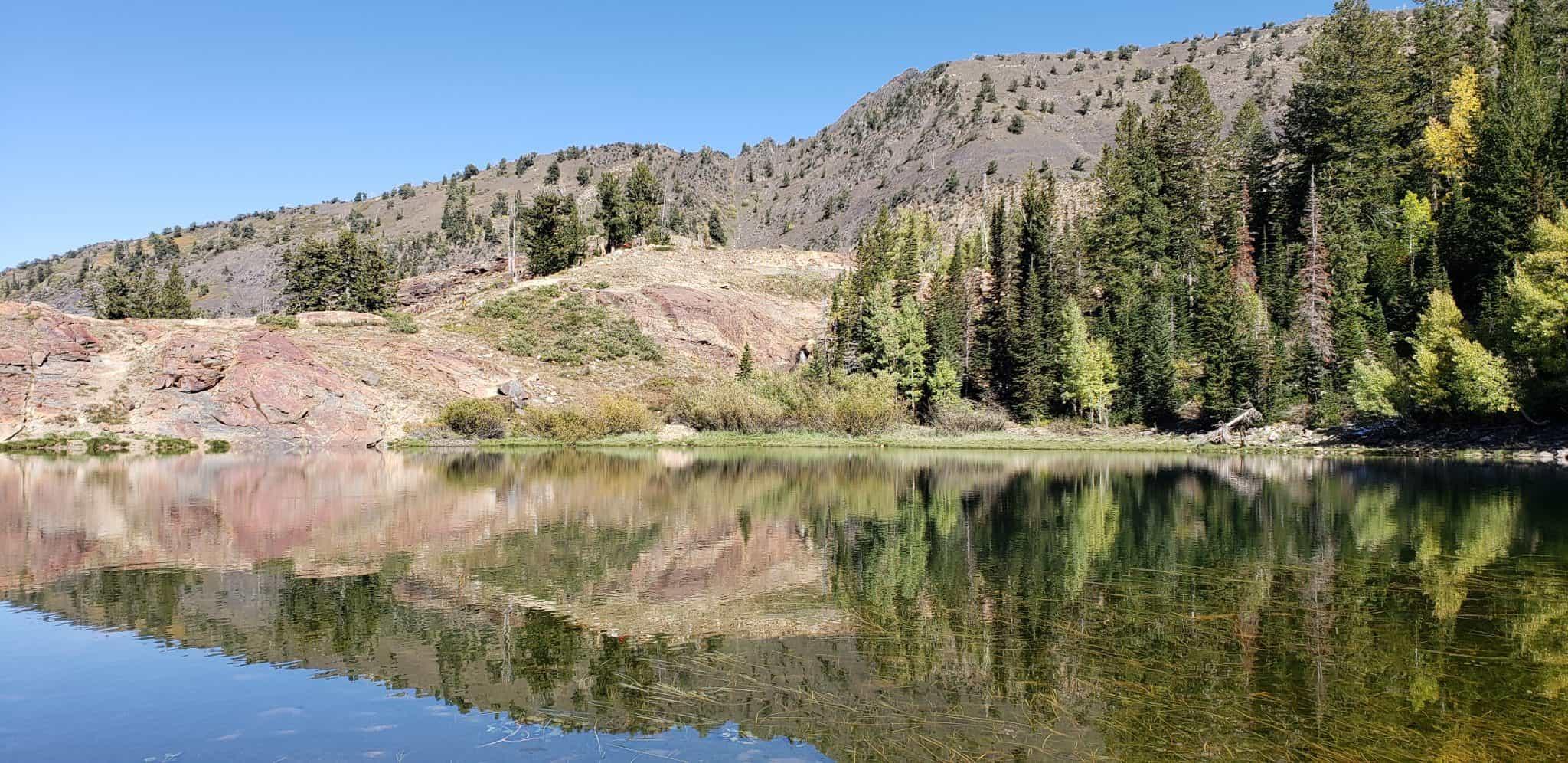 Lake Florence up Lake Blanche Trail in Utah