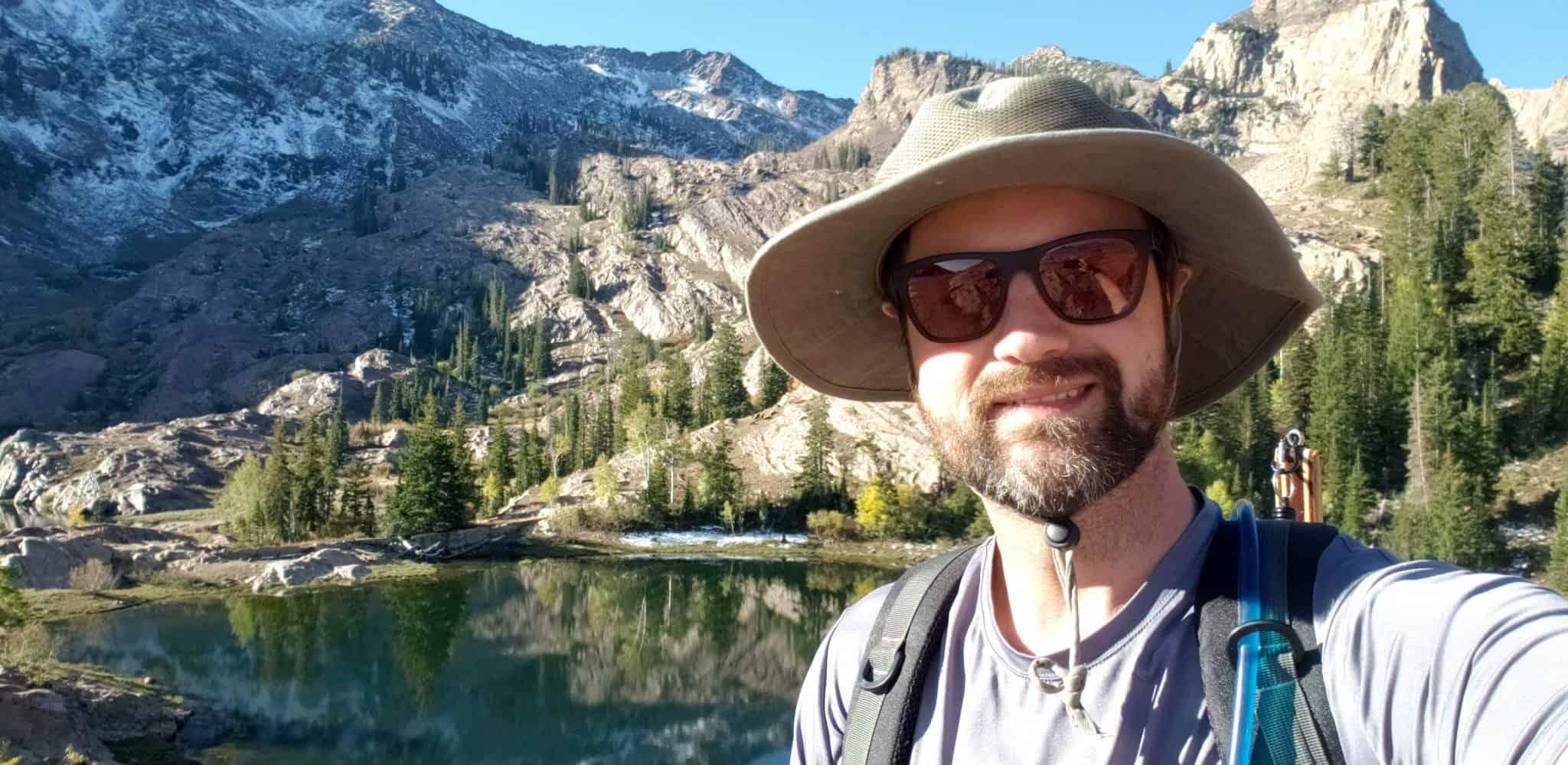 Todd Welch high altitude mountain lake trout fishing Lake Florence Utah