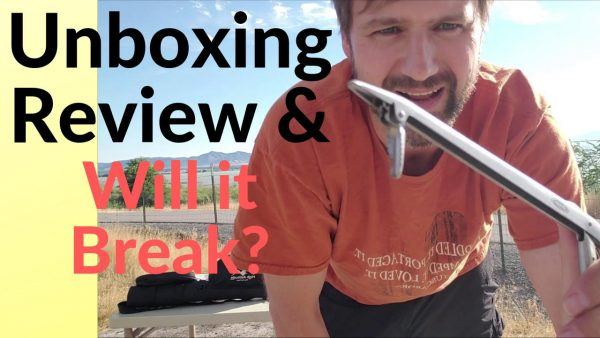 Unboxing Review & Will it Break, Berkley Fishing Hook Extractor Hook Remover