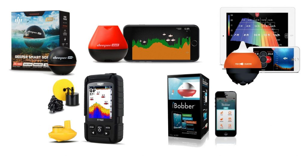 Five of the Best Wireless Portable Fish Finders Available on the Market