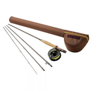 Redington Path II Outfit Fishing Rod with Crosswater Reel 4PC Fishing Combo