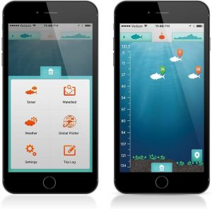 ReelSonar Wireless Bluetooth Smart Fish Finder App